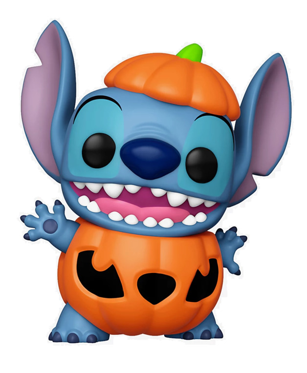 Lilo & Stitch: Pumpkin Stitch - Pop! Vinyl Figure