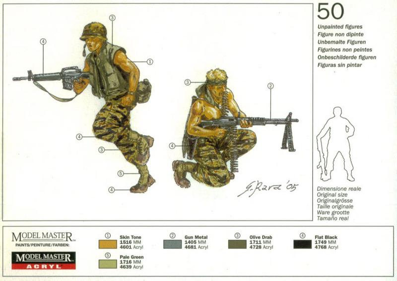 Italeri American Special Forces (Vietnam War) 1:72 Model Kit image