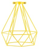 General Eclectic Geometric Lampshade - Yellow