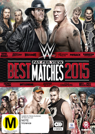 WWE: Best PPV Matches 2015 on DVD