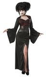 Gothic Geisha Costume - (Medium)