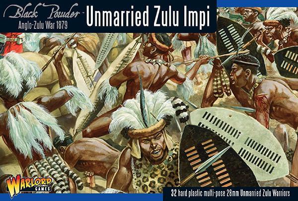 Anglo Zulu War Unmarried Zulu Impi