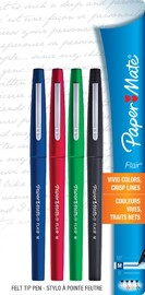 Paper Mate Flair Felt-Tip Pen - Medium Business Assorted (4-pack)