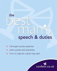 The Best Man's Speech and Duties