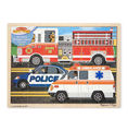 Melissa & Doug: To the Rescue Wooden Jigsaw - 24pc