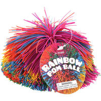 Rainbow Pom Ball