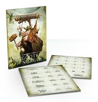 Warhammer Warscroll Cards: Maggotkin of Nurgle