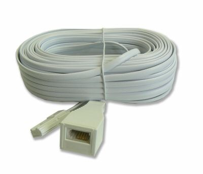 Digitus RJ-11 Telephone Extension Cable 2m image