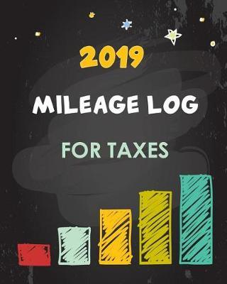 2019 Mileage Log for Taxes by Paper Kate Publishing