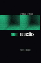 Room Acoustics by Heinrich Kuttruff image