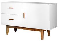Milten Cabinet - White