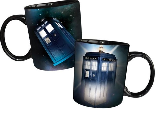 Doctor Who - Disappearing Tardis Mug