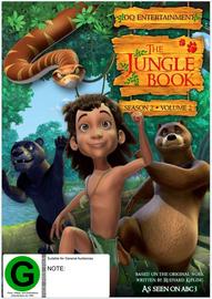 The Jungle Book: Season 2 - Volume 2 on DVD