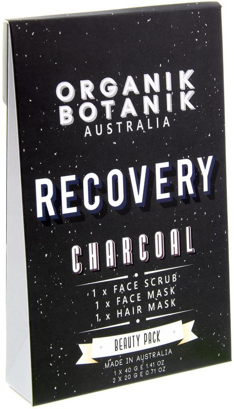 Organik Botanik - Recovery Hair & Facial Treatment Beauty Pack (Charcoal)