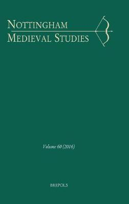 Nottingham Medieval Studies 60 (2016) by Brepols Publishers image