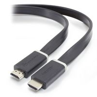Alogic Flat High Speed HDMI with Ethernet Cable - Male to Male (1m)