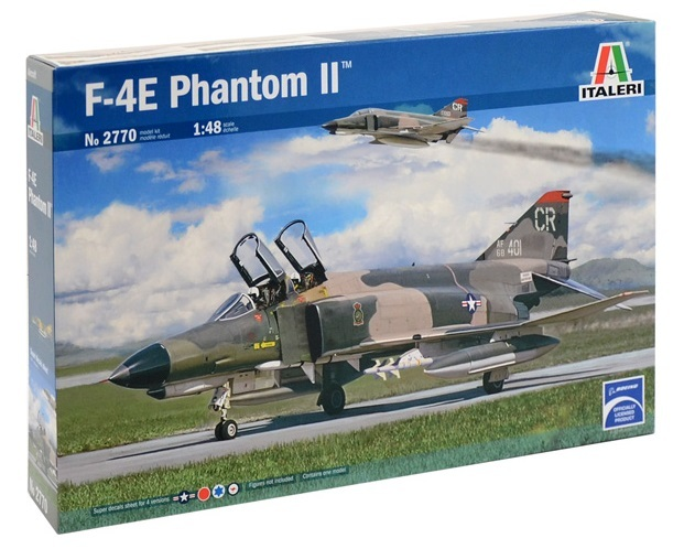 Italeri: 1/48 F-4E Phantom II -Model Kit