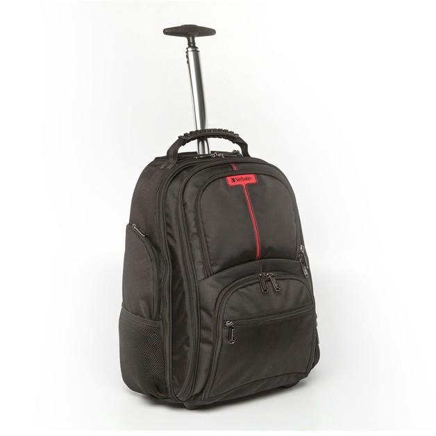 "Verbatim Paris Backpack Roller for 17"" Notebook"