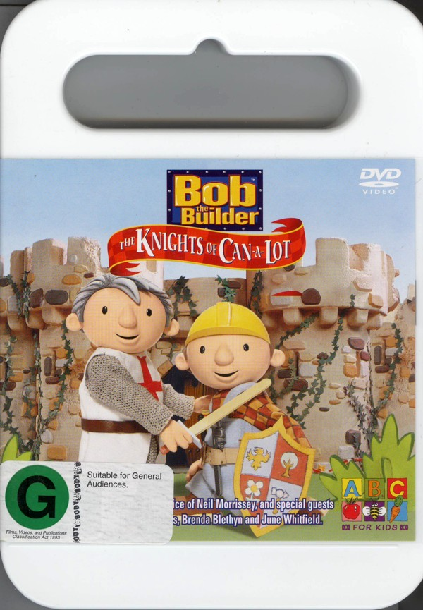 Bob The Builder - The Knights Of Can-A-Lot on DVD image