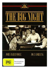 The Big Night on DVD image