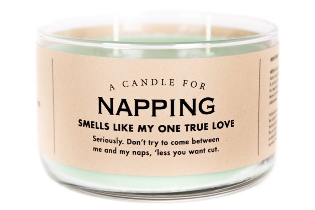 Whiskey River Co: A Candle For Napping