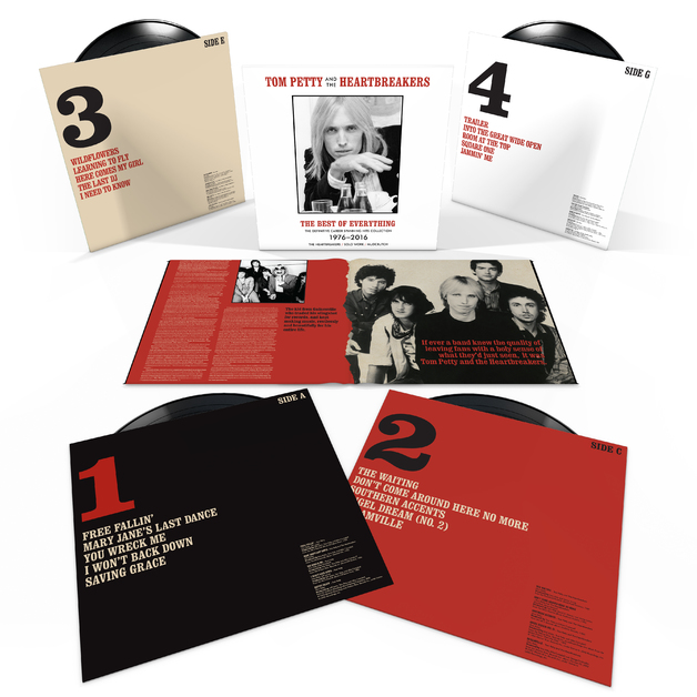 The Best Of Everything - The Definitive Collection (4LP) by Tom Petty And The Heartbreakers