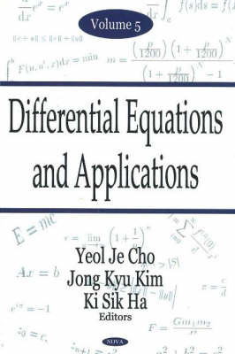 Differential Equations & Applications, Volume 5 image