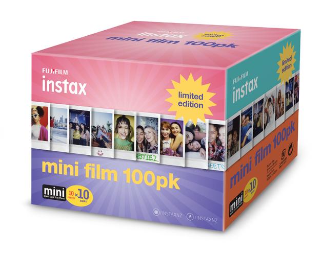 Fujifilm Instax Mini Film 100 Pack Limited Edition