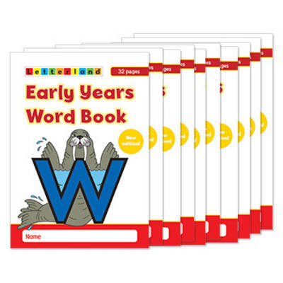 Early Years Wordbook by Lyn Wendon