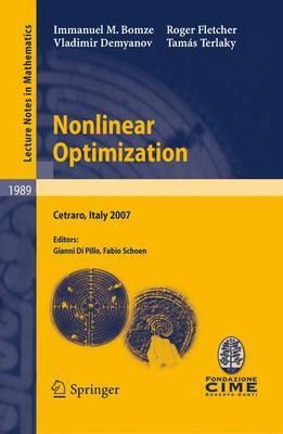 Nonlinear Optimization by Immanuel M. Bomze