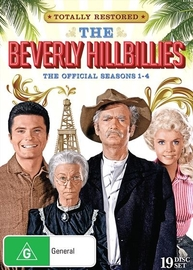 The Beverly Hillbillies - Seasons 1 - 4 (19 Disc Set) on DVD