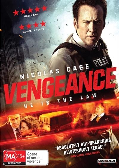 Vengeance: A Love Story on DVD