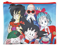 Dragon Ball Flat Pouch: Goku & Friends