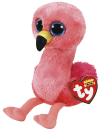 Ty Beanie Boo: Gilda Flamingo - Small Plush