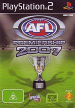 AFL Premiership 2007 for PlayStation 2