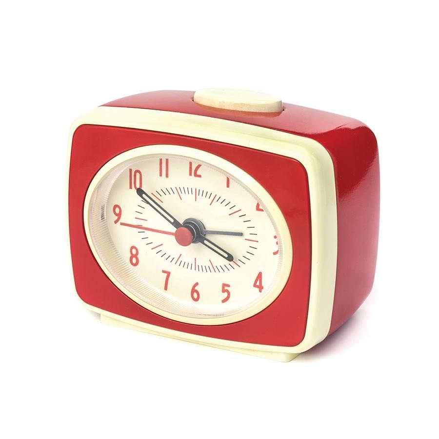 Small Classic Alarm Clock - Red image