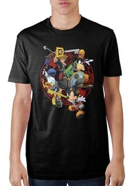 Kingdom Hearts: Battle - T-Shirt (Large)