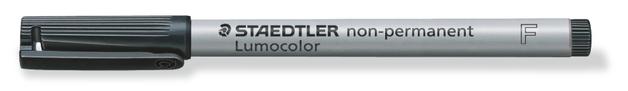 Staedtler: Lumocolor Non-Permanent Fine Tip Pen - Black