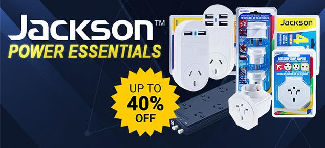 Jackson Power Essentials SALE!