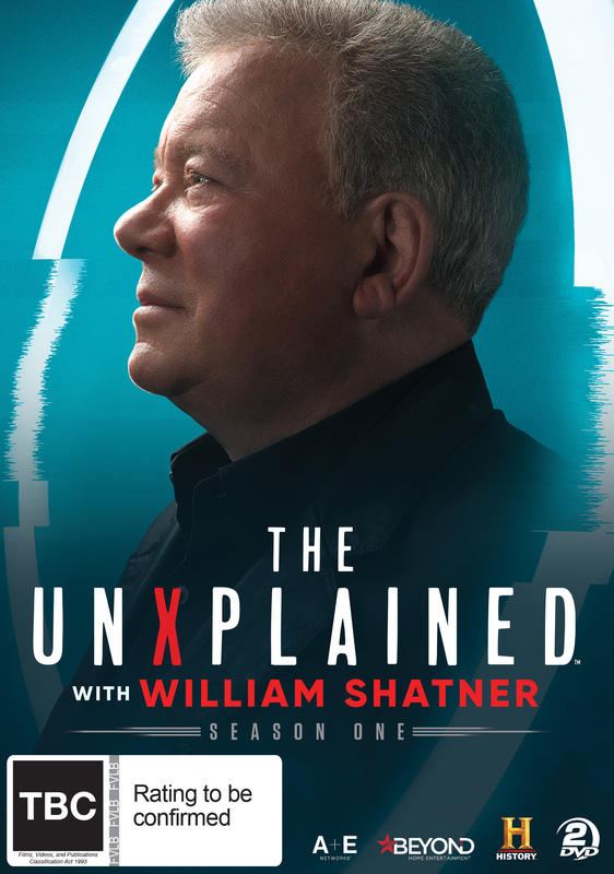 The UnXplained with William Shatner on DVD