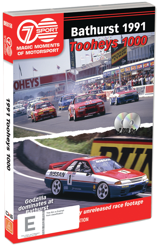 Magic Moments of Motorsport: 1991 Tooheys 1000 on DVD