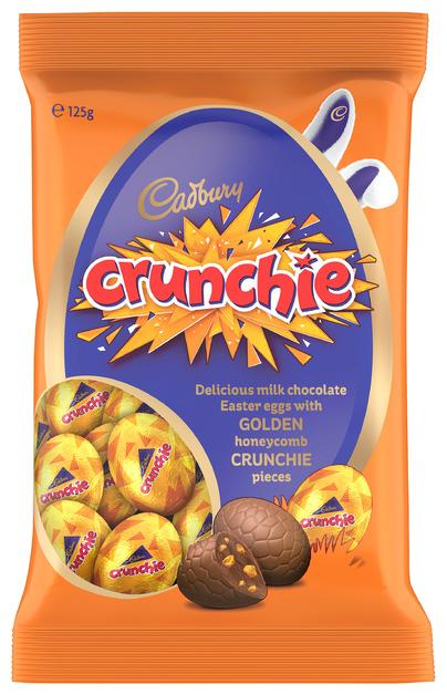 Cadbury Crunchie Egg Bag 125g
