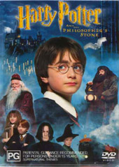 Harry Potter and the Philosopher's Stone on DVD