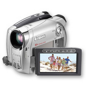 Canon DC220 DVD Video Camera 35x Zoom Lens