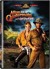 Allan Quatermain And The Lost City Of Gold on DVD