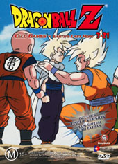 Dragon Ball Z 3.21 - Cell Games - Earth's Last Hope on DVD