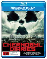 Chernobyl Diaries on Blu-ray, DC
