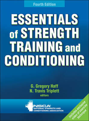 Essentials of Strength Training and Conditioning 4th Edition with Web Resource by Greg Haff