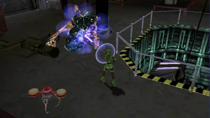 Alien Syndrome for PSP image