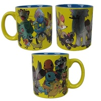 Pokemon - Group Foil Print Mug